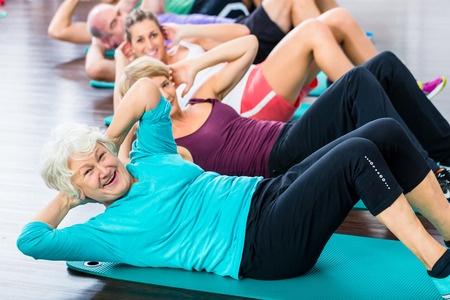 התעמלות גופנית לקשישים